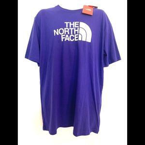 NWT THE NORTH FACE T-SHIRT AZTEC BLUE XL